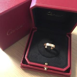 Cartier - Cartier ミニラブリング ダイヤモンド