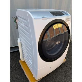 日立 - HITACHI ビッグドラムスリム 温水ナイアガラ洗浄 11kg /6kg