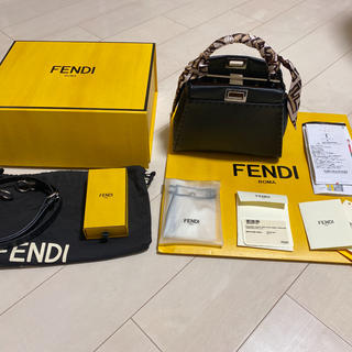 FENDI - フェンディ ピーカブーアイコニックスモール ラッピー付