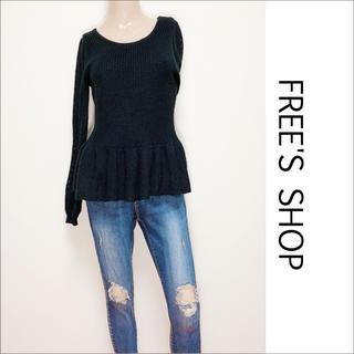 FREE'S SHOP - FREE'S SHOP ペプラム ニット♡フリーズマート マウジー ザラ SLY