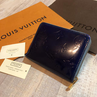 LOUIS VUITTON - ルイヴィトン ヴェルニ ジッピー ラウンド ミニ財布 小銭 コイン 財布