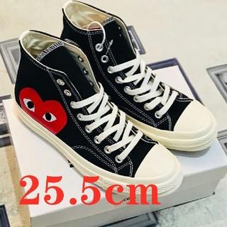 コムデギャルソン(COMME des GARCONS)の25.5cm 海外限定 ギャルソンCT HI 黒(スニーカー)