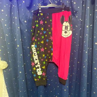 ディズニー(Disney)のサルエルパンツ ミッキー ディズニー  4L(サルエルパンツ)
