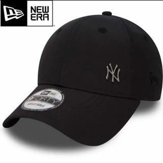 NEW ERA ニューエラ メタルロゴ ワンポイント NYヤンキース 黒