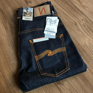 ヌーディジーンズ(Nudie Jeans)のnudie jeans デニムパンツ thin finn 新品未使用(デニム/ジーンズ)