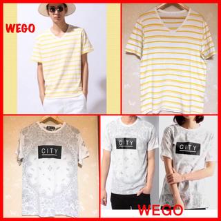 ウィゴー(WEGO)の【本日まで❗️】《夏物処分❗️ WEGO Tシャツセット 男女兼用❣️(Tシャツ/カットソー(半袖/袖なし))