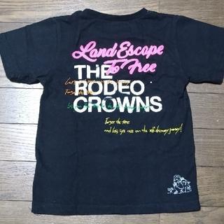 ロデオクラウンズワイドボウル(RODEO CROWNS WIDE BOWL)の中古 2019バースデイTシャツキッズL(Tシャツ/カットソー)
