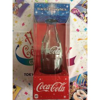 コカコーラ(コカ・コーラ)の東京Disney sea15周年 コカコーラ空き瓶 (キャラクターグッズ)