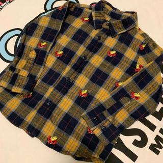 HYSTERIC MINI - 刺繍シャツ