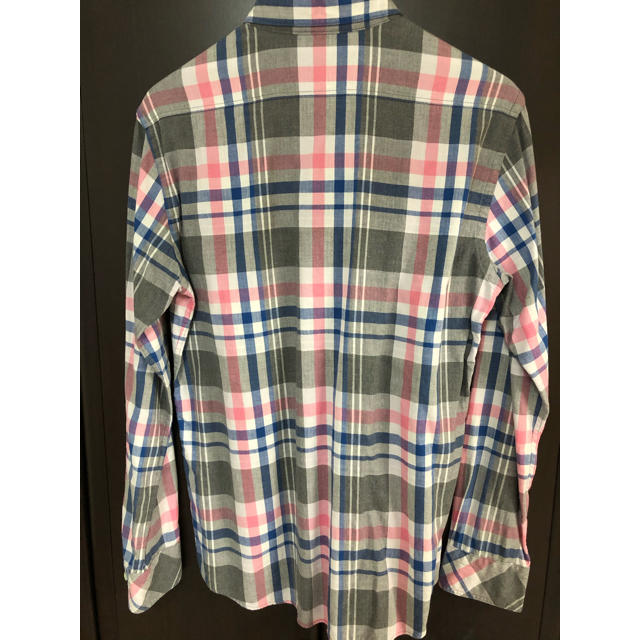 BURBERRY BLACK LABEL(バーバリーブラックレーベル)のバーバリーブラックレーベル チェックシャツ メンズのトップス(シャツ)の商品写真