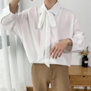 ハレ(HARE)のハレ シャツ ブラウス 韓国 ホワイト グレー ピンク イエロー(シャツ)