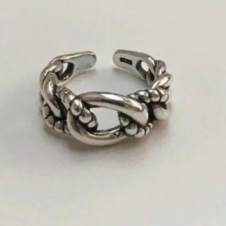 Ameri VINTAGE - シルバー925 SILVER 925 ロープデザインリング指輪