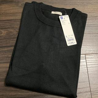 ジーユー(GU)のジーユーファインゲージクルーネックセーター(長袖)CL(ニット/セーター)