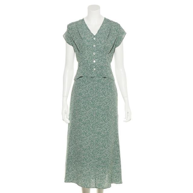 FRAY I.D(フレイアイディー)のフレイアイディー セットアップ レディースのスカート(ロングスカート)の商品写真
