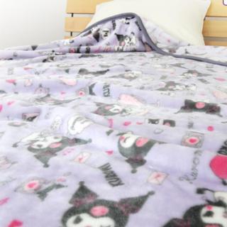サンリオ(サンリオ)のタイムセール!クロミ マイメロ  毛布 ハーフサイズ ブランケット 寝具 新品(毛布)