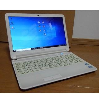 ノートパソコン webカメラ付き!富士通 AH54/G windows10