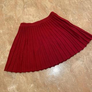 ニシマツヤ(西松屋)の西松屋 ニットプリーツスカート 80cm(スカート)