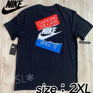NIKE - 新品 NIKE ナイキ Tシャツ GM CHANGER 2 ブラック 2XL