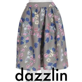 ダズリン(dazzlin)のdazzlin チューリップ膝丈切替スカート【ボリュームスカート】(ひざ丈スカート)