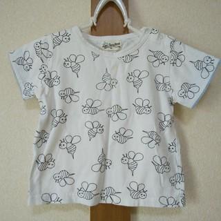 ラブアンドピースアンドマネー(Love&Peace&Money)のlove&peace&money ハチTシャツ 100サイズ ラブピ(Tシャツ/カットソー)