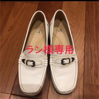 ing - ローファー 白 ing 23.0cm