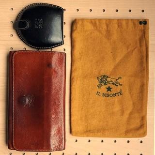 IL BISONTE - イルビゾンテ レザー ロングウォレット 革 長財布