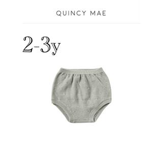 こども ビームス - 新品未使用 quincy mae ブルマ sage 2-3y