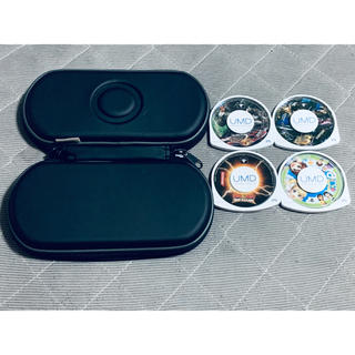 PlayStation Portable - PSP ケース ソフト4点 送料無料