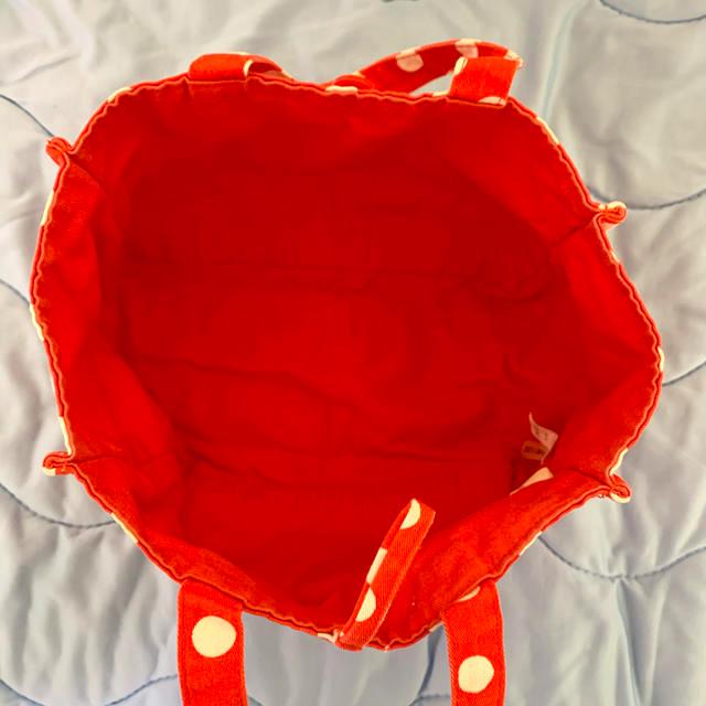 東京ディズニーリゾート ミニーマウス ランチトート バッグ エンタメ/ホビーのおもちゃ/ぬいぐるみ(キャラクターグッズ)の商品写真