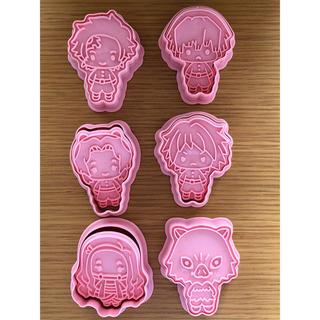 ☆鬼滅の刃 クッキー型 6個セット☆