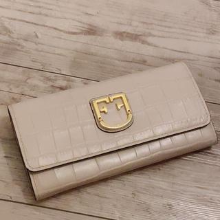 フルラ(Furla)のフルラ クロコ型押し長財布(長財布)