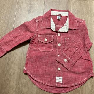 ベビーギャップ(babyGAP)のBabygap シャツ 90cm(ジャケット/上着)