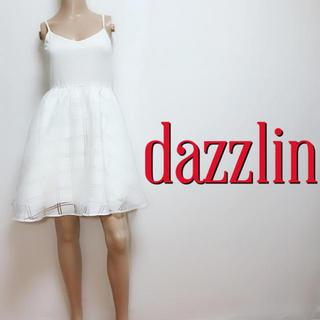 ダズリン(dazzlin)のふわふわ♪ダズリン 切り替えフレアワンピース♡マーキュリーデュオ スナイデル(ミニワンピース)