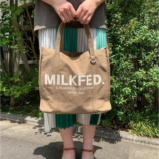 ミルクフェド(MILKFED.)のMILKFED.  BIG LOGO 2WAY BAG(トートバッグ)