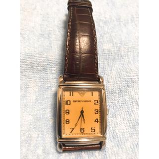 エンポリオアルマーニ(Emporio Armani)の腕時計 エンポリオアルマーニ 純正革(腕時計(アナログ))