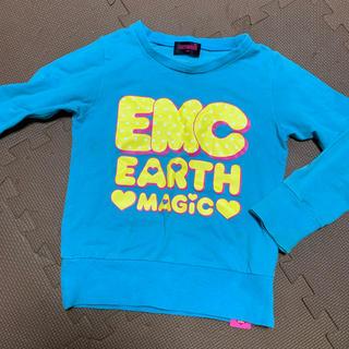 アースマジック(EARTHMAGIC)のアースマジック 薄手トレーナー(Tシャツ/カットソー)