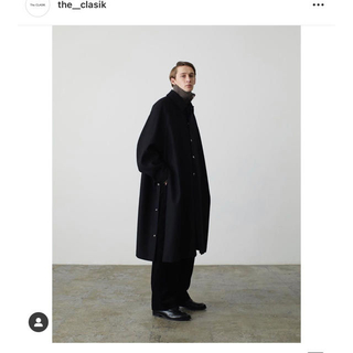 Jil Sander - THE CLASIK 20AW BAL COLLAR PONCHO