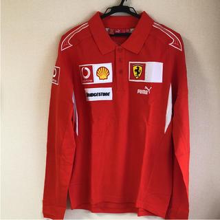 フェラーリ(Ferrari)の新品・タグ付き フェラーリ ポロシャツ(ポロシャツ)