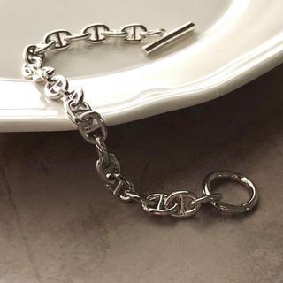 DEUXIEME CLASSE - silver chaine d'Ancre blaceret