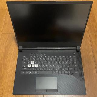 エイスース(ASUS)の【美品】ASUS ゲーミングノートパソコンROG(ノートPC)