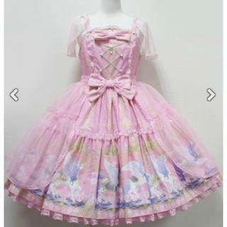 Angelic Pretty - Crystal Dream CarnivalティアードJSK+KC+コーム