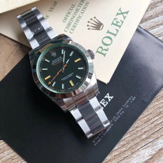 国内配送☆メンズ腕時計★ ロレックス☆28800振動 35☆