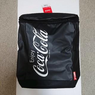 コカコーラ(コカ・コーラ)のコカコーラ リュック ブラック プライズ品 新品タグ付き(バッグパック/リュック)
