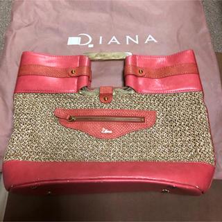 ダイアナ(DIANA)のDiana バッグ(かごバッグ/ストローバッグ)