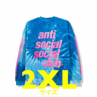 ANTI - 2XLサイズ【新品】Rotterdam Blue Tie Dye Long