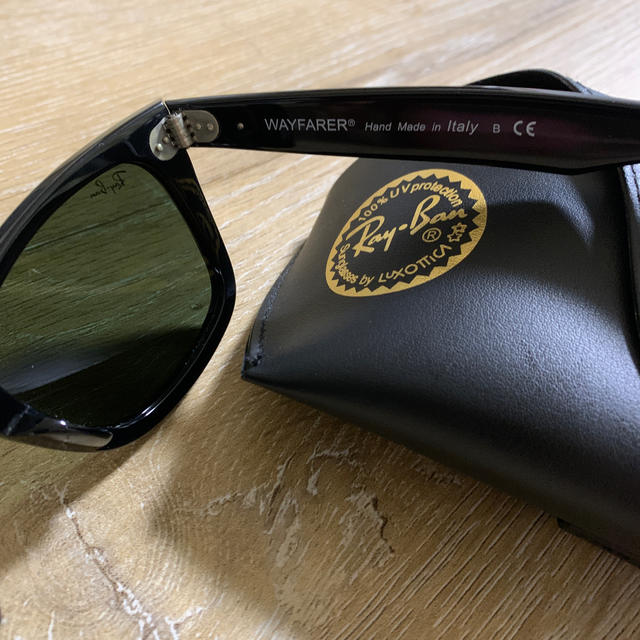 Ray-Ban(レイバン)のレイバン ウェイファーラー ブラック メンズのファッション小物(サングラス/メガネ)の商品写真