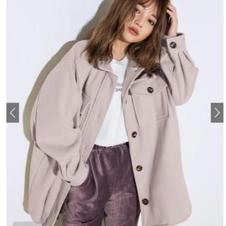 グレイル(GRL)のGRL ベルト付き ビックシルエット シャツジャケット (その他)