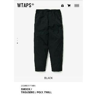 W)taps - WTAPS 20AW SMOCK TROUSERS POLY BLACK XL