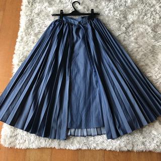 ルシェルブルー(LE CIEL BLEU)のルシェルブルー スカート プリーツスカート ロングスカート(ロングスカート)
