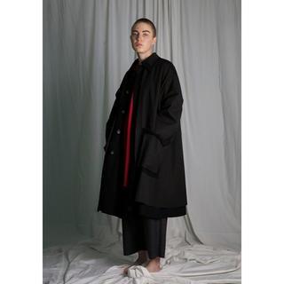 サンシー(SUNSEA)のmy beautiful landlet rayerd long coat(ステンカラーコート)